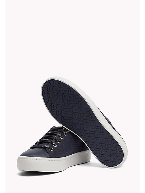 TOMMY HILFIGER Canvas sneaker - MIDNIGHT - TOMMY HILFIGER Best Verkocht - detail image 1
