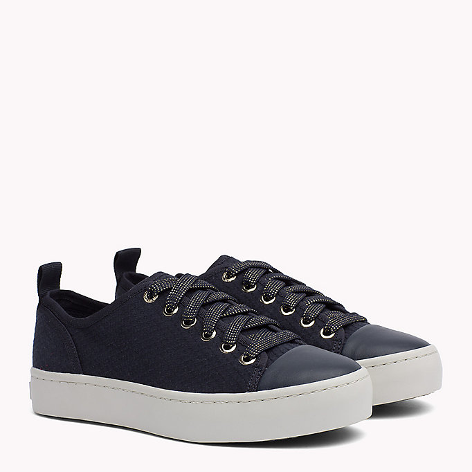 TOMMY HILFIGER Canvas Sneaker - TANGO RED - TOMMY HILFIGER Women - main image