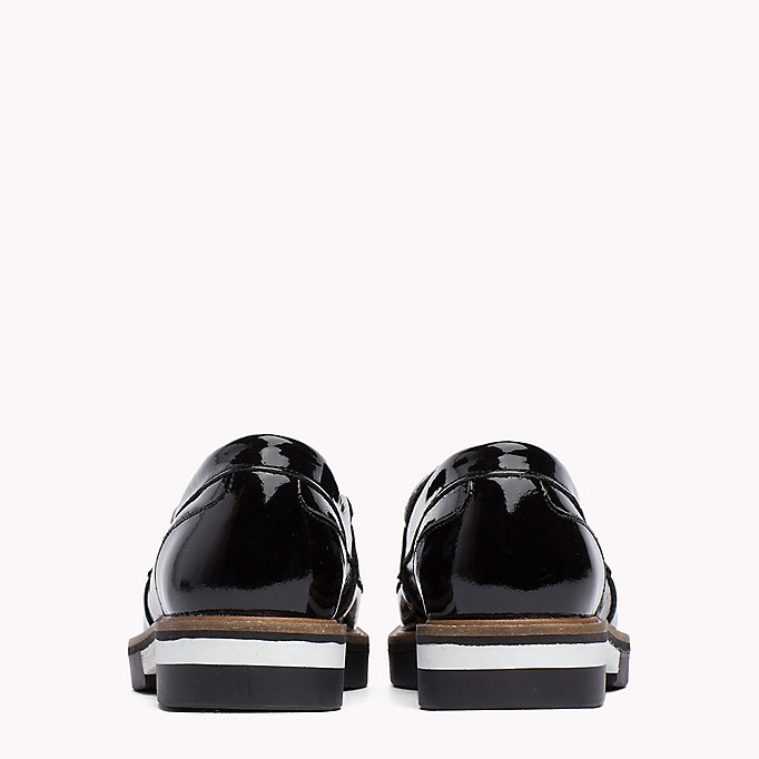 TOMMY HILFIGER Patent Leather Penny Loafers - SILKY NUDE - TOMMY HILFIGER SHOES - detail image 2