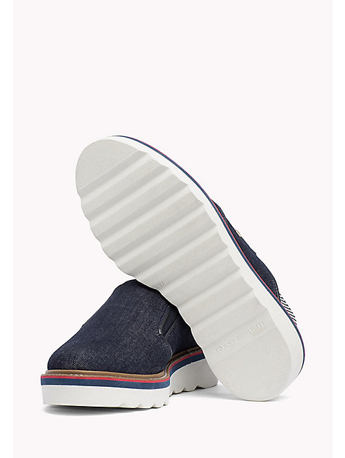 TOMMY HILFIGER Denim Slingback Slip-On Shoes - DENIM - TOMMY HILFIGER Mocassins & Loafers - image détaillée 1