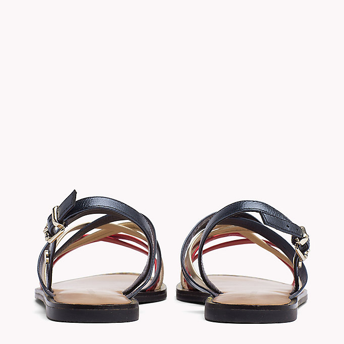TOMMY HILFIGER Metallic Strappy Sandals - MEKONG - TOMMY HILFIGER SHOES - detail image 2