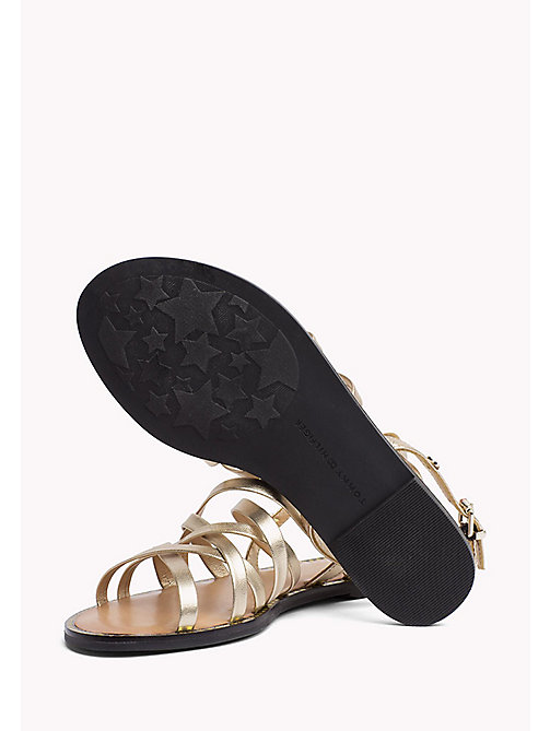 TOMMY HILFIGER Metallic Strappy Sandals - MEKONG - TOMMY HILFIGER Shoes - detail image 1