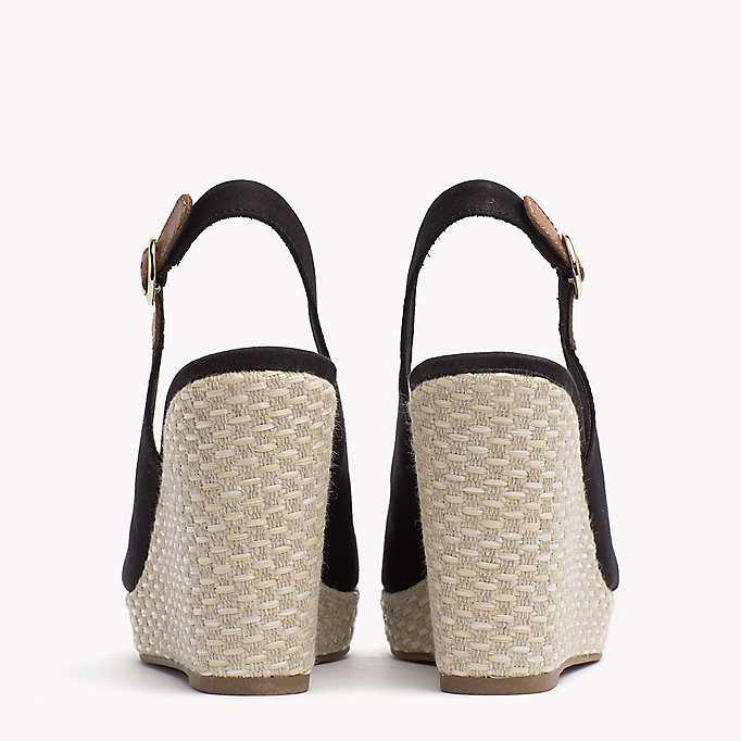 TOMMY HILFIGER Iconic Slingback Espadrille Wedge Sandals - WHISPER WHITE - TOMMY HILFIGER Women - detail image 2