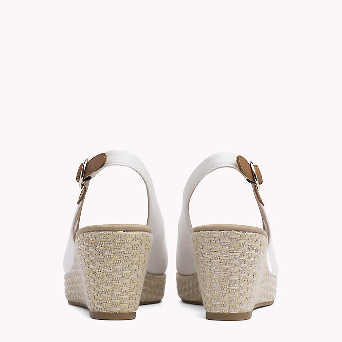 TOMMY HILFIGER Iconic Slingback Sandals - COBBLESTONE - TOMMY HILFIGER SHOES - detail image 2