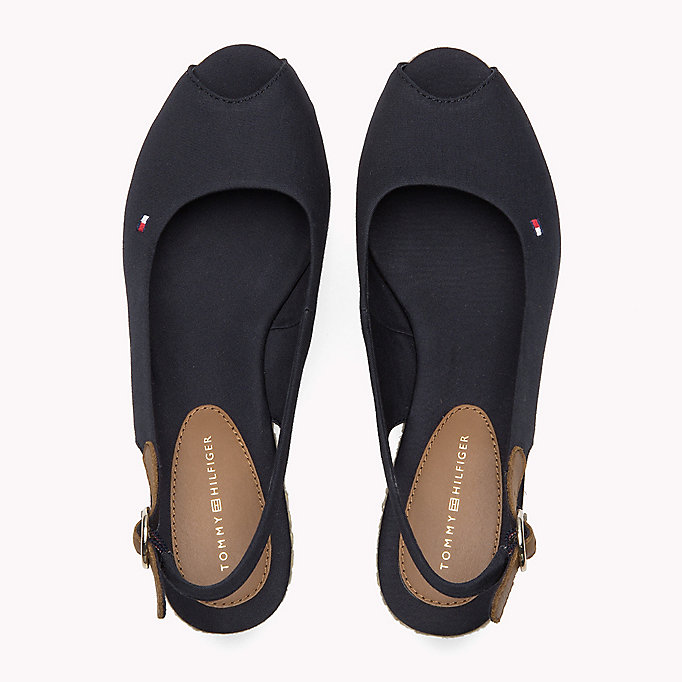 TOMMY HILFIGER Iconic Slingback Sandals - BLACK - TOMMY HILFIGER SHOES - detail image 3
