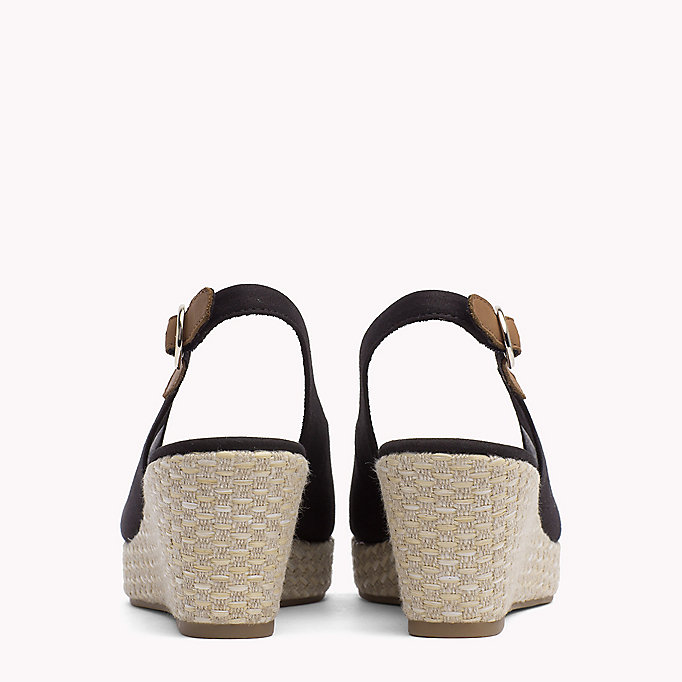 TOMMY HILFIGER Iconic Slingback Sandals - WHISPER WHITE - TOMMY HILFIGER SHOES - detail image 2