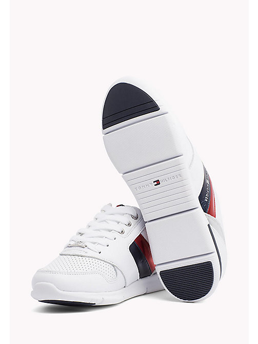 TOMMY HILFIGER Lightweight Metallic Detail Trainers - RWB - TOMMY HILFIGER Athleisure - main image 1