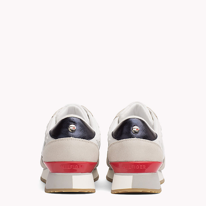TOMMY HILFIGER Suede Star Trainers - MIDNIGHT - TOMMY HILFIGER SHOES - detail image 2