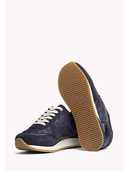 TOMMY HILFIGER Suede Star Trainers - MIDNIGHT - TOMMY HILFIGER Trainers - detail image 1