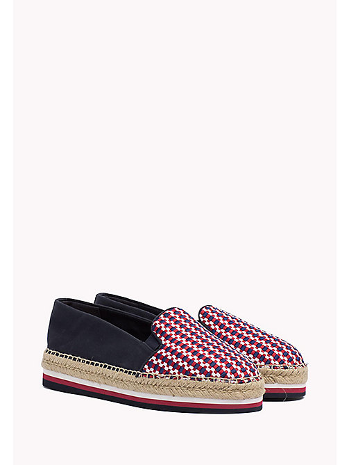 TOMMY HILFIGER Woven Flat Espadrilles - RWB - TOMMY HILFIGER VACATION FOR HER - main image