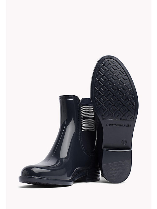 TOMMY HILFIGER Chelsea Rubber Boots - MIDNIGHT - TOMMY HILFIGER Best Sellers - detail image 1
