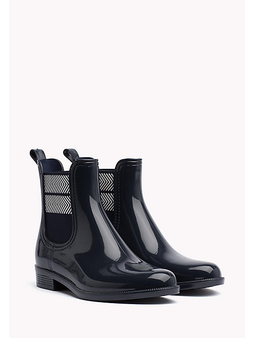 TOMMY HILFIGER Chelsea Rubber Boots - MIDNIGHT - TOMMY HILFIGER Best Sellers - main image