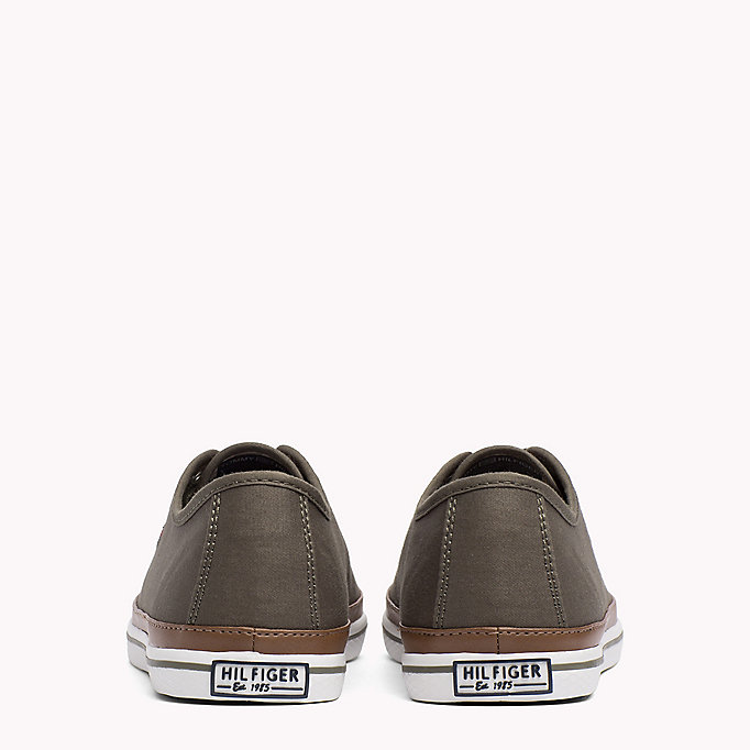 TOMMY HILFIGER Classic Low Top Canvas Trainers - DESERT SAND - TOMMY HILFIGER Women - detail image 2