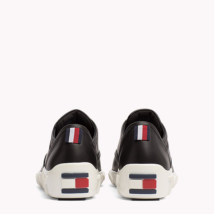 TOMMY HILFIGER Gigi Hadid Leather Sneaker - WHITE - TOMMY HILFIGER Women - detail image 2