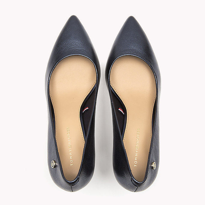 TOMMY HILFIGER Metallic Leather Pumps - MEKONG - TOMMY HILFIGER Women - detail image 3