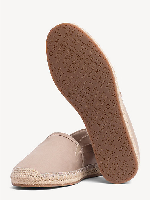 TOMMY HILFIGER Flat Espadrilles - COBBLESTONE - TOMMY HILFIGER VACATION FOR HER - detail image 1