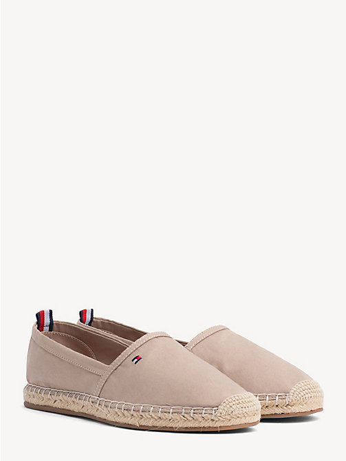 TOMMY HILFIGER Flat Espadrilles - COBBLESTONE - TOMMY HILFIGER VACATION FOR HER - main image