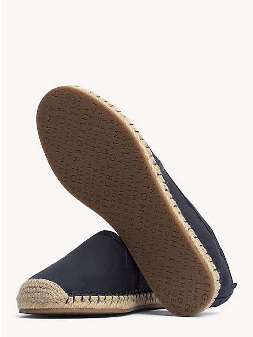 TOMMY HILFIGER Espadrilles plates - MIDNIGHT - TOMMY HILFIGER Chaussures - image détaillée 1