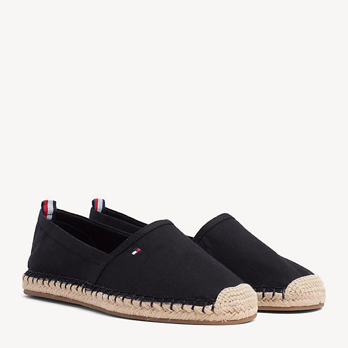 TOMMY HILFIGER Flat Espadrilles - MIDNIGHT - TOMMY HILFIGER SHOES - main image