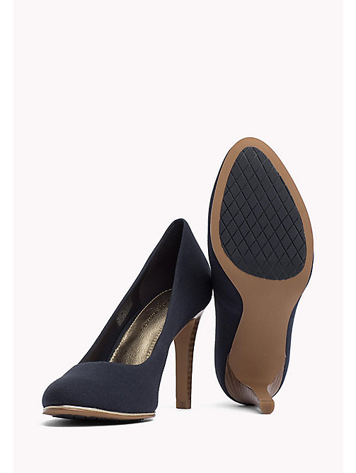 TOMMY HILFIGER Textile Pumps - MIDNIGHT - TOMMY HILFIGER Occasion wear - detail image 1