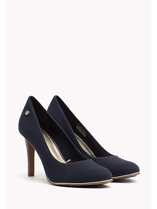 TOMMY HILFIGER Pump van textiel - MIDNIGHT - TOMMY HILFIGER Pumps - main image