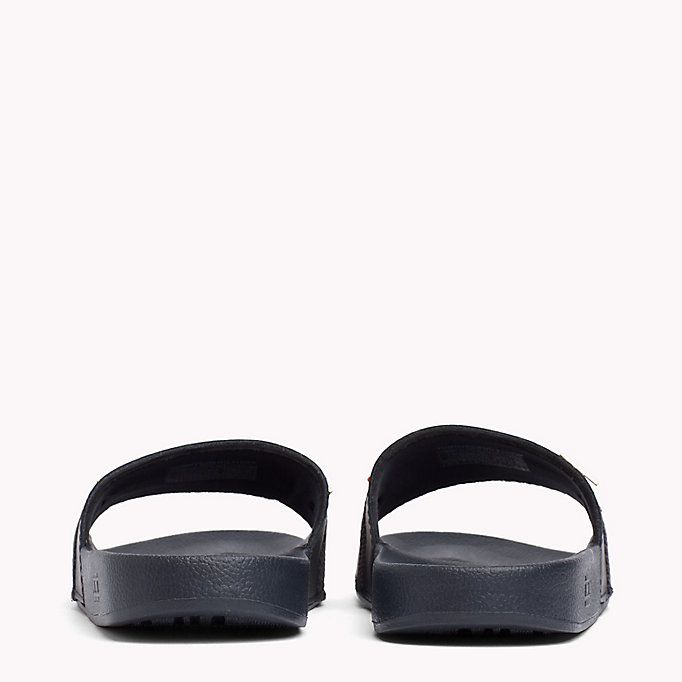 TOMMY HILFIGER Leather Beach Sliders - TANGO RED - TOMMY HILFIGER Women - detail image 2