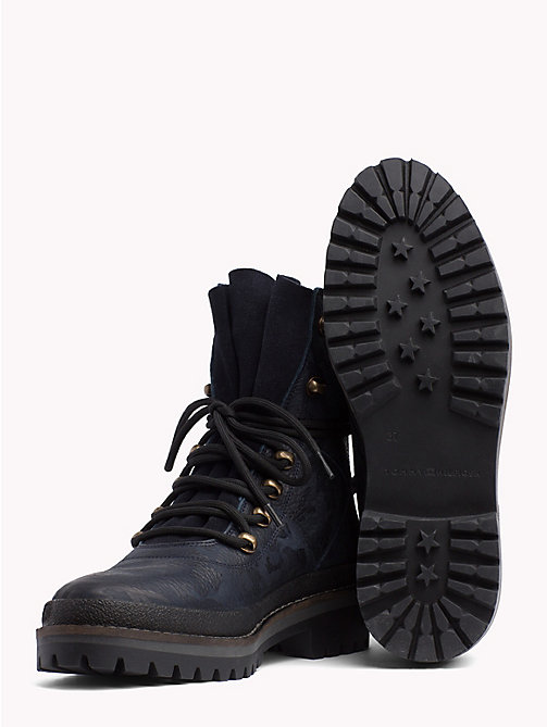 TOMMY HILFIGER Modern Hiking Boots - MIDNIGHT - TOMMY HILFIGER Ankle Boots - detail image 1