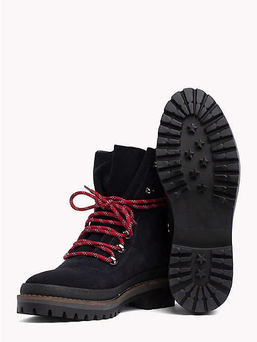 TOMMY HILFIGER Modern Hiking Boots - MIDNIGHT -  Shoes - detail image 1