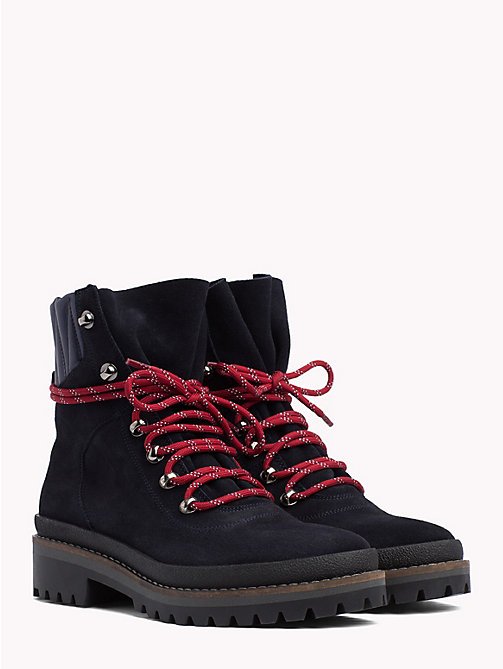 TOMMY HILFIGER Modern Hiking Boots - MIDNIGHT - TOMMY HILFIGER Ankle Boots - main image
