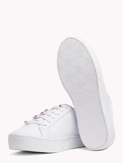 TOMMY HILFIGER Star Charm Trainers - WHITE - TOMMY HILFIGER Shoes - detail image 1