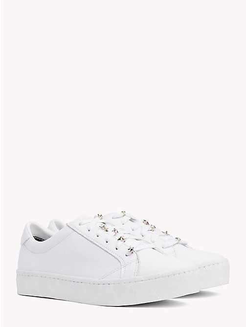 TOMMY HILFIGER Star Charm Trainers - WHITE - TOMMY HILFIGER Shoes - main image