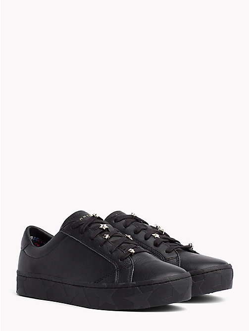 TOMMY HILFIGER Star Charm Trainers - BLACK - TOMMY HILFIGER Trainers - main image