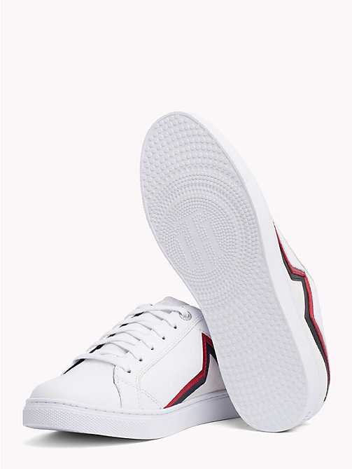 TOMMY HILFIGER Star Essential Trainers - RWB - TOMMY HILFIGER Signature stripes - detail image 1