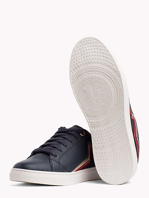 TOMMY HILFIGER Star Essential Trainers - MIDNIGHT - TOMMY HILFIGER Trainers - detail image 1