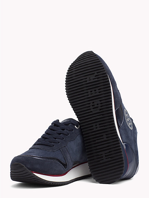 TOMMY HILFIGER Stud Monogram City Trainers - RWB - TOMMY HILFIGER Shoes - detail image 1