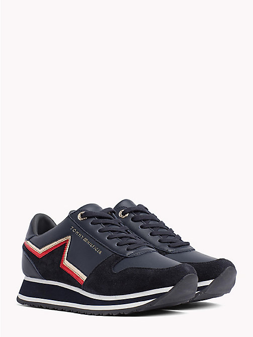 TOMMY HILFIGER Retro Star Trainers - RWB - TOMMY HILFIGER Shoes - main image