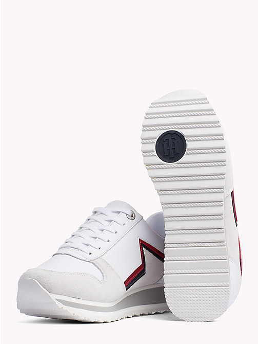 TOMMY HILFIGER Retro Star Trainers - WHITE - TOMMY HILFIGER Shoes - detail image 1