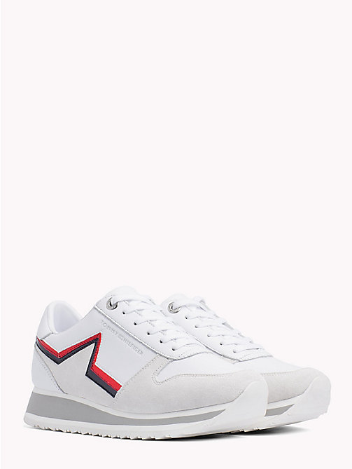 TOMMY HILFIGER Retro Star Trainers - WHITE - TOMMY HILFIGER Shoes - main image