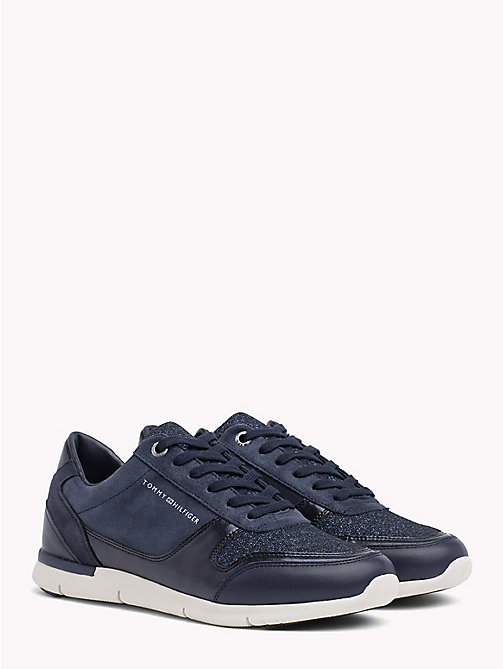TOMMY HILFIGER Sneakers leggere glitterate - TOMMY NAVY - TOMMY HILFIGER Sneakers - immagine principale
