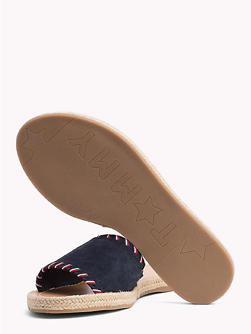 TOMMY HILFIGER Signature Tape Suede Slip-On Sandals - RWB - TOMMY HILFIGER Sandals - detail image 1