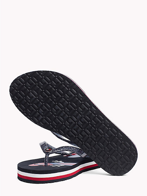 TOMMY HILFIGER Gecko Print Flip-Flops - MIDNIGHT - TOMMY HILFIGER VACATION FOR HER - detail image 1