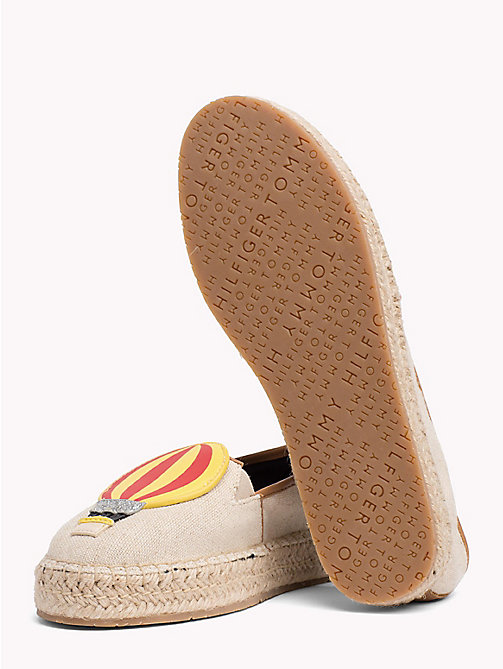 TOMMY HILFIGER Balloon Appliqué Espadrilles - TAPIOCA - TOMMY HILFIGER VACATION FOR HER - detail image 1