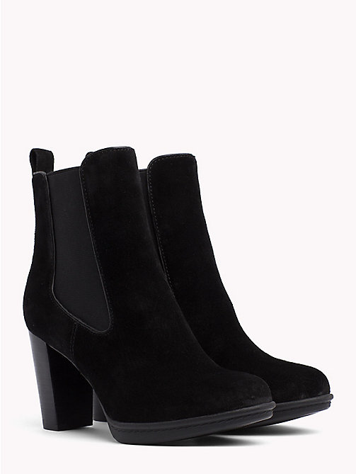 TOMMY HILFIGER High Heel Chelsea Boots - BLACK - TOMMY HILFIGER Ankle Boots - main image