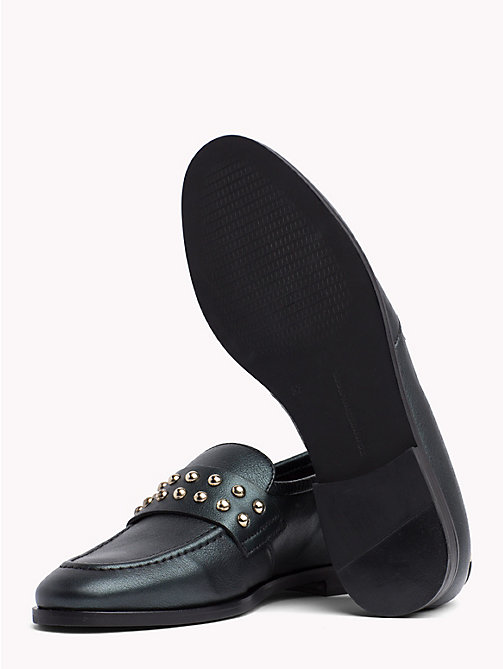 TOMMY HILFIGER Metal Stud Loafers - SEA PINE - TOMMY HILFIGER The shoe edit - detail image 1