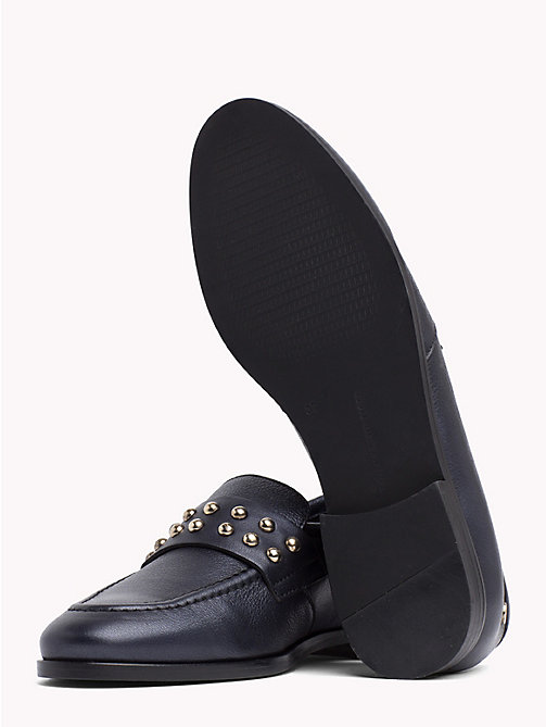 TOMMY HILFIGER Metal Stud Loafers - TOMMY NAVY - TOMMY HILFIGER Shoes - detail image 1