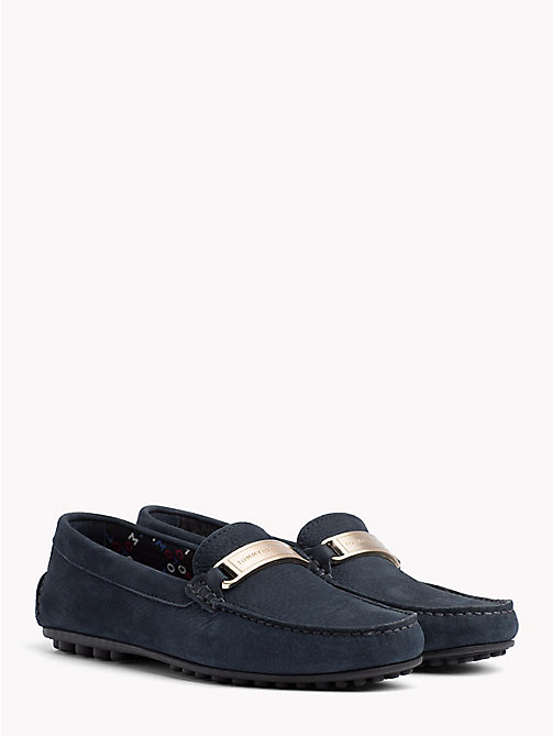 TOMMY HILFIGER Tommy Hilfiger Hardware Moccasins - MIDNIGHT - TOMMY HILFIGER Shoes - main image