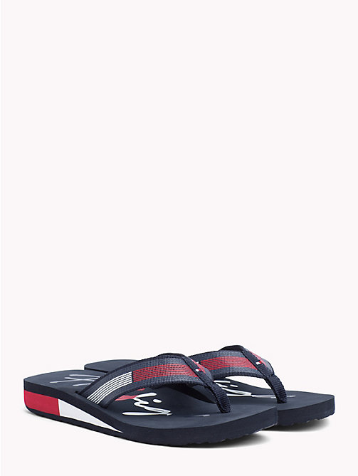 TOMMY HILFIGER Signature Colour-Blocked Sandals - RWB - TOMMY HILFIGER NEW IN - main image