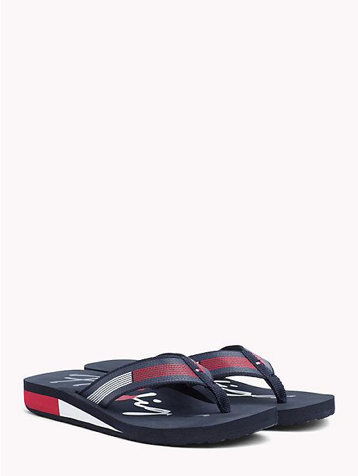c193030d30c TOMMY HILFIGERSignature Colour-Blocked Sandals
