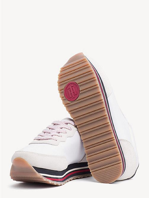 TOMMY HILFIGER Sneaker mit Tommy-Sohle - WHITE - TOMMY HILFIGER NEW IN - main image 1