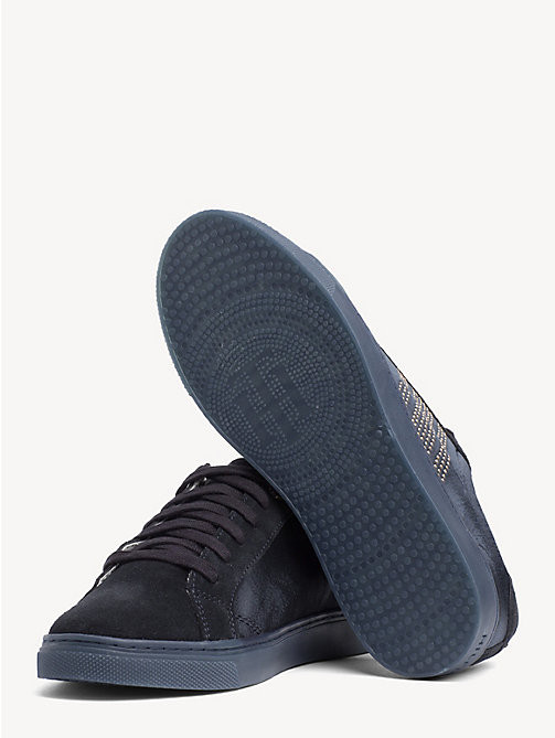 TOMMY HILFIGER Sneaker mit Satin-Finish - MIDNIGHT - TOMMY HILFIGER NEW IN - main image 1
